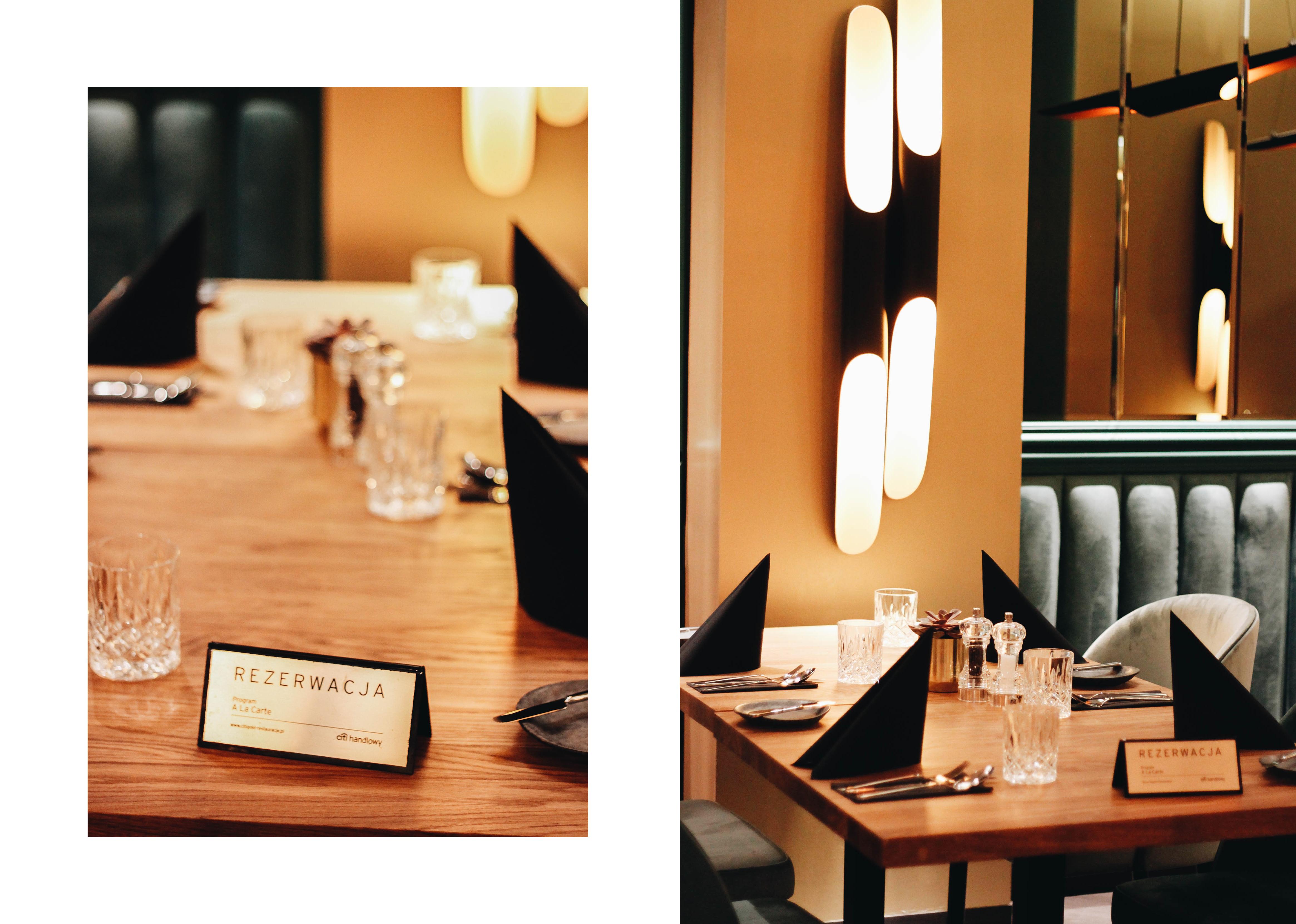 restauracja Papavero Poznań wnętrze