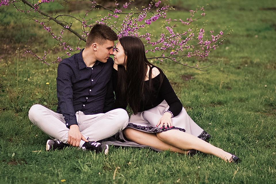 romantyczna sesja poznań