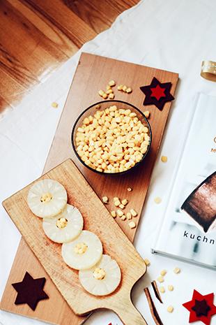 świąteczna kukurydza z ananasem