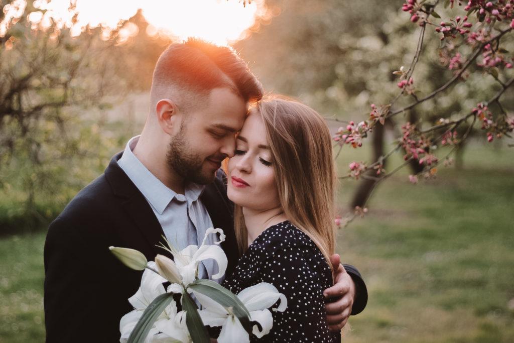 romantyczna sesja poznan