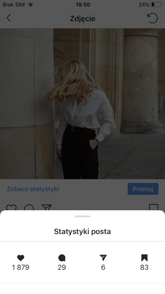 jak czytać statystyki Instagrama